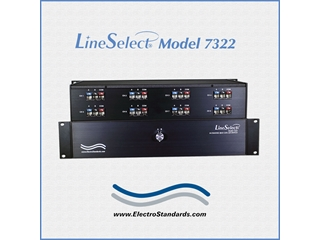 Catalog #307322 - 7322 8-Channel RJ45 Cat6 A/B Switch, Manual Control